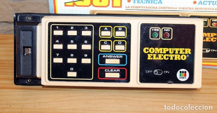 Juegos educativos: ANTIGUO COMPUTER ELECTRO 1001, DE JUMBO Y DISET + LIBROS 1. EN SU CAJA ORIGINAL Y FUNCIONANDO - Foto 4 - 222748608