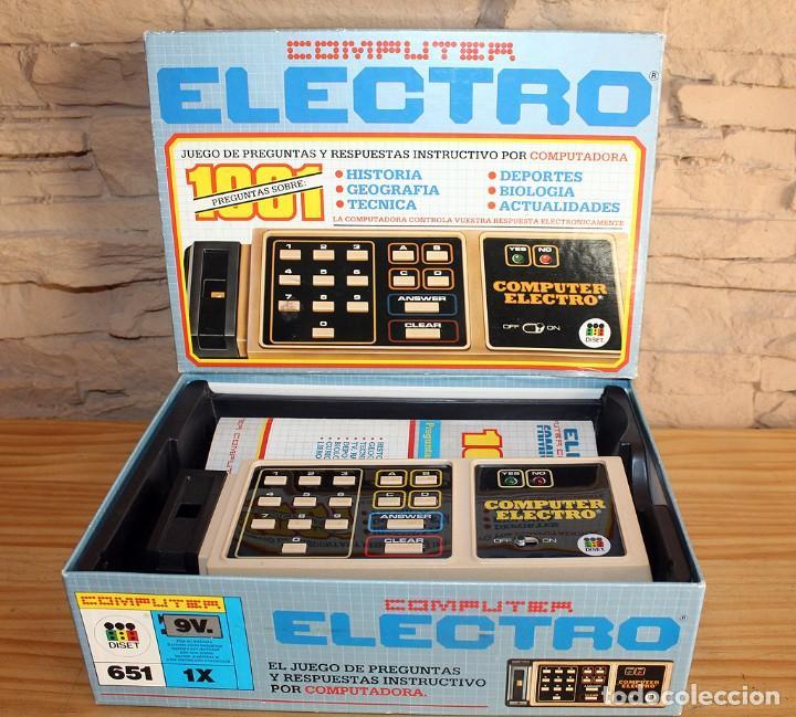 Juegos educativos: ANTIGUO COMPUTER ELECTRO 1001, DE JUMBO Y DISET + LIBROS 1. EN SU CAJA ORIGINAL Y FUNCIONANDO - Foto 5 - 222748608