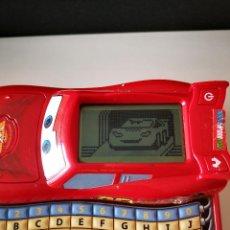 Juegos educativos: ORDENADOR VTECH RAYO MCQUEEN DE LA PELICULA CARS DISNEY PIXAR FUNCIONA BUEN ESTADO EN GENERAL. Lote 222919272