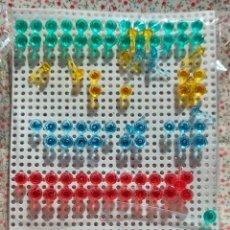 Juegos educativos: COLORINES CRISTAL, TRANSPARENTE. PINCHOS Y BASE AÑOS 80. Lote 224603203