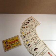 Juegos educativos: ANTIGUO SOBRE FICHAS ESCOLARES DE LETRAS CHIQUITÍN DE TEXTOS E.P. Lote 224829225