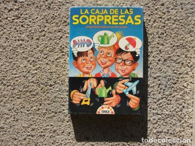 JUEGO LA CAJA DE LAS SOPRESAS - EDUCA 3913 (Juguetes - Juegos - Educativos)