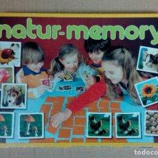 Juegos educativos: NATUR MEMORY - EDUCA - AÑOS 80 - COMPLETO. Lote 226933110