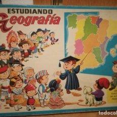 Juegos educativos: JUGUETE ESTUDIANDO GEOGRAFIA, EDICIÓN EUROPA, DE CEFA. VINTAGE, AÑOS 70.. Lote 227463485