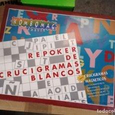 Juegos educativos: KOMBOMAG CRUCIGRAMAS MAGNETICOS. Lote 227674925