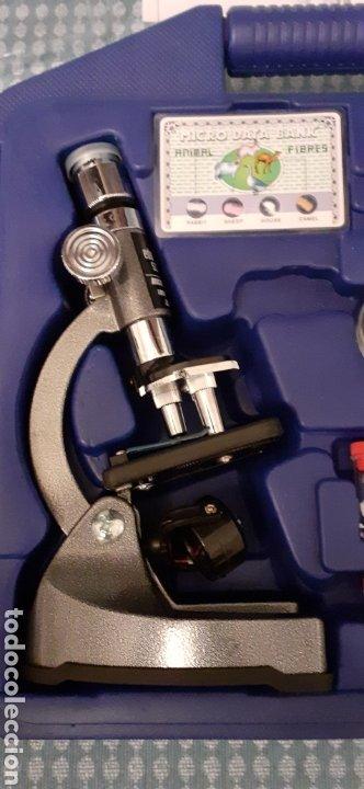 Juegos educativos: Microscopio Edu science, prácticamente nuevo - Foto 4 - 228443945