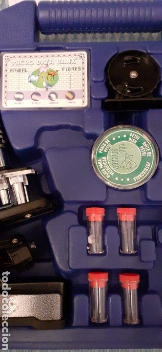 Juegos educativos: Microscopio Edu science, prácticamente nuevo - Foto 5 - 228443945