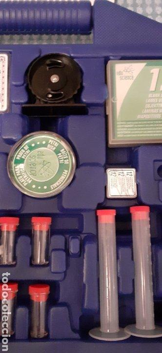 Juegos educativos: Microscopio Edu science, prácticamente nuevo - Foto 6 - 228443945