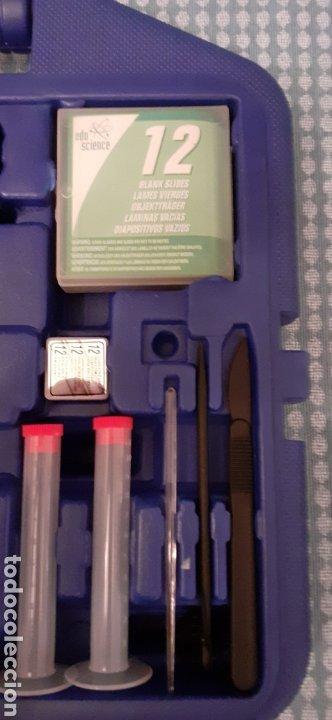 Juegos educativos: Microscopio Edu science, prácticamente nuevo - Foto 7 - 228443945