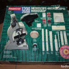 Jogos educativos: JUEGO MICROSCOPIO 1200 ZOOM TASCO. Lote 229017420