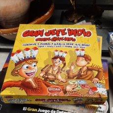 Juegos educativos: JUEGO DE MESA GRAN JEFE INDIO BIZAK. Lote 229295660