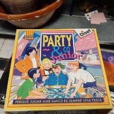 Juegos educativos: JUEGO DE MESA PARTY Y JUNIOR EN CATALA DISET COMPLETO. Lote 229296095