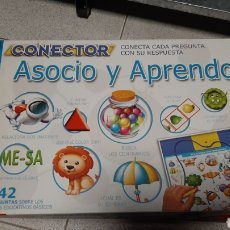 Juegos educativos: JUEGO EDUCATIVO CONECTOR ASOCIO Y APRENDO. Lote 229298980