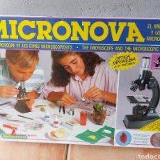Giochi educativi: MICRONOVA A ESTRENAR. 1988. JUEGO CIENTÍFICO. MICROSCOPIO.. Lote 230681455