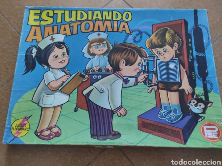 JUEGO ESTUDIANDO ANATOMÍA DE PSE. UN CLÁSICO (Juguetes - Juegos - Educativos)