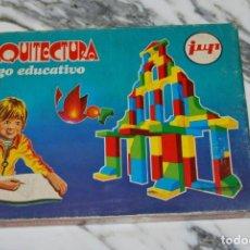 Juegos educativos: ARQUITECTURA - JUEGO EDUCATIVO - JUP - PIEZAS DE MADERA - AÑOS 70 - SIN ABRIR. Lote 232871288
