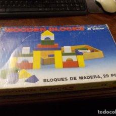 Jeux éducatifs: WOODEN BLOCKS, BLOQUES DE MADERA 29 PIEZAS MT-3007 +3 AÑOS. Lote 235341245