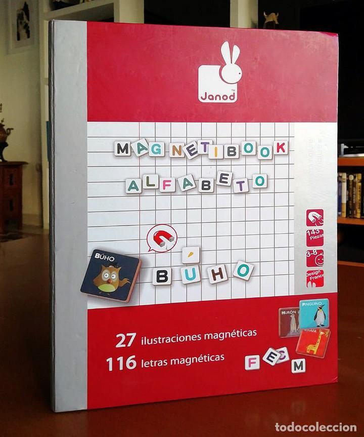 MAGNETIBOOK ALFABETO ESPAÑOL (Juguetes - Juegos - Educativos)