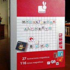 Juegos educativos: MAGNETIBOOK ALFABETO ESPAÑOL. Lote 235564105