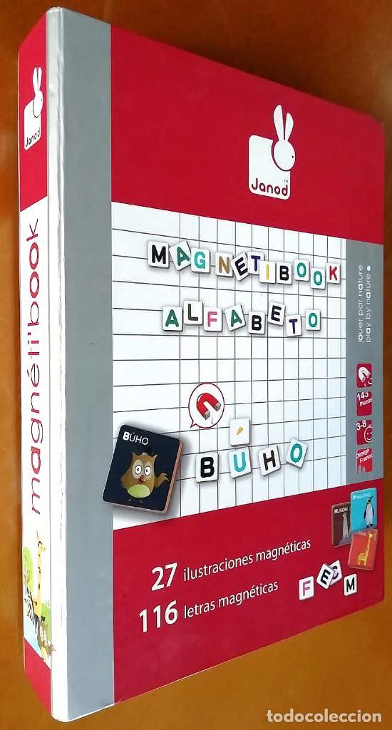 Juegos educativos: Magnetibook Alfabeto Español - Foto 2 - 235564105