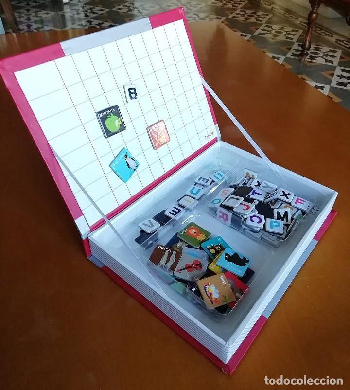 Juegos educativos: Magnetibook Alfabeto Español - Foto 3 - 235564105