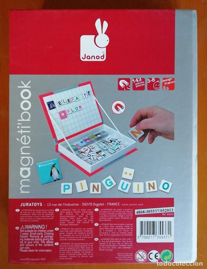 Juegos educativos: Magnetibook Alfabeto Español - Foto 6 - 235564105