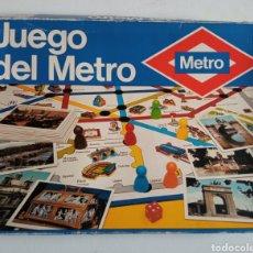 Juegos educativos: JUEGO DEL METRO MADRID. Lote 236362010