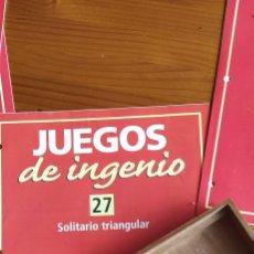 Juegos educativos: JUEGO SOLITARIO DE MADERA. Lote 236383280