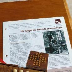 Juegos educativos: JUEGO SOLITARIO DE MADERA. Lote 236496160
