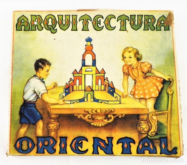 Juegos educativos: Juego de construcción Arquitectura oriental Años 30 - Foto 2 - 237146620