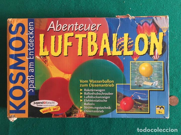 Juegos educativos: Juego de ciencia con globos, marca Kosmos - Foto 2 - 237761920
