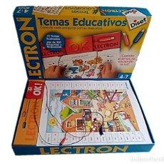Jeux éducatifs: LECTRON TEMAS EDUCATIVOS DE DISET - COMPLETO!!. Lote 240221270