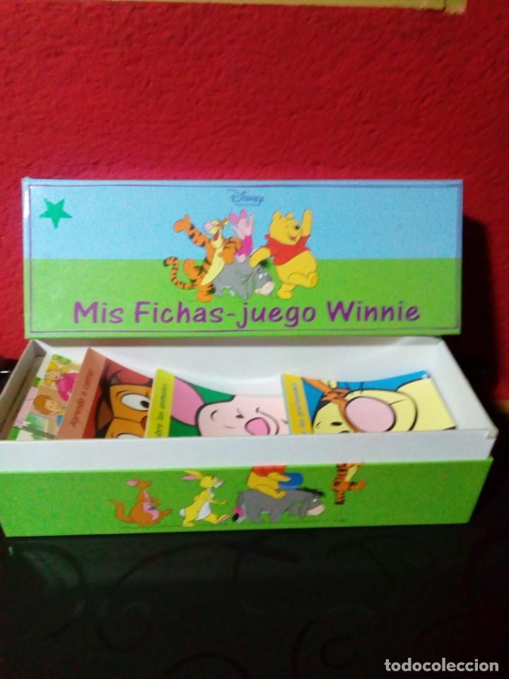 MIS FICHAS-JUEGO WINNIE (Juguetes - Juegos - Educativos)