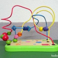 Juegos educativos: LABERINTO GOULA FORMAS GEOMÉTRICAS JUGUETE EDUCATIVO MOTRICIDAD FINA. Lote 240408045