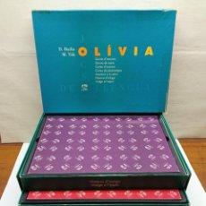 Juegos educativos: MUY DIFICIL IMPRESIONANTE OLIVIA - 7 JUEGOS DE MESA EN UNA CAJA LENGUA CATALANA JUEGOS AURA - 7.5 KG. Lote 240704885