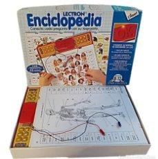 Jeux éducatifs: LECTRON ENCICLOPEDIA DE DISET ¡¡COMPLETO!!. Lote 240911495