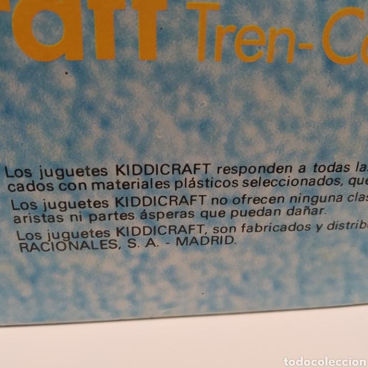 Juegos educativos: Tren Carreta KIDDICRAFT, fabricado en España por Juguetes Racionales SA, Madrid. Años 70- a estrenar - Foto 7 - 241138705
