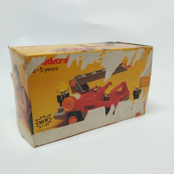Juegos educativos: Camión de Bomberos, fabricado en Inglaterra por HERSTAIR KIDDICRAFT, Kenley. Año 1978 - a estrenar - Foto 8 - 241139340