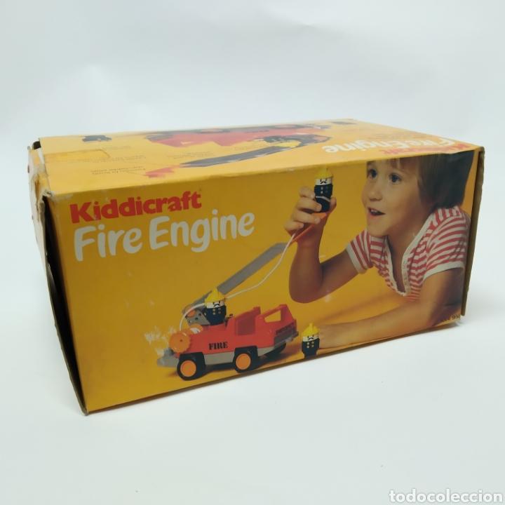 Juegos educativos: Camión de Bomberos, fabricado en Inglaterra por HERSTAIR KIDDICRAFT, Kenley. Año 1978 - a estrenar - Foto 9 - 241139340