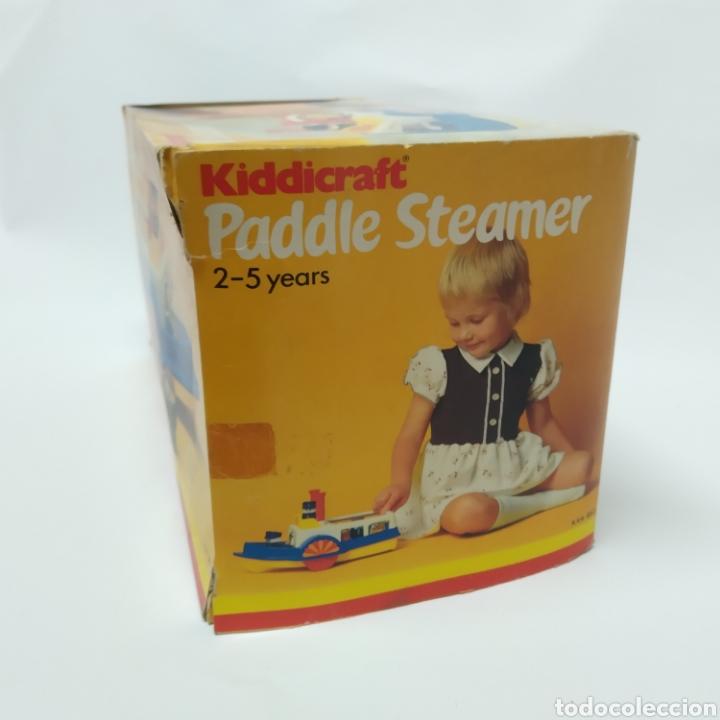 Juegos educativos: Barco a vapor, fabricado en Inglaterra por HERSTAIR KIDDICRAFT, Kenley. Año 1978 - a estrenar - Foto 4 - 241139760