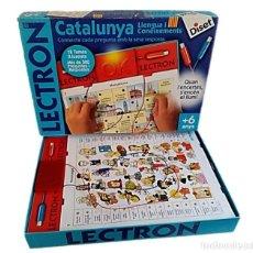 Jeux éducatifs: LECTRON CATALUNYA DE DISET AÑOS 80 ¡¡COMPLETO!!. Lote 241462255