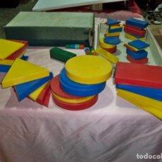 Juegos educativos: ANTIGUO JUEGO BLOQUES LOGICOS , TEIDE , DE ENOSA , MADE IN SPAIN. Lote 242011585