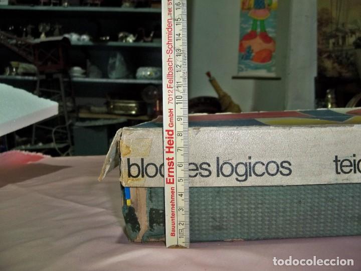 Juegos educativos: Antiguo juego BLOQUES LOGICOS , TEIDE , de ENOSA , made in spain - Foto 6 - 242011585