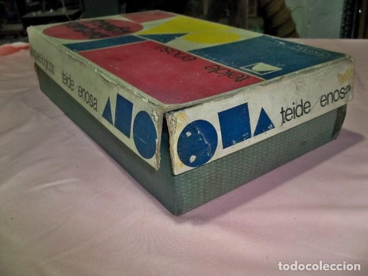 Juegos educativos: Antiguo juego BLOQUES LOGICOS , TEIDE , de ENOSA , made in spain - Foto 7 - 242011585