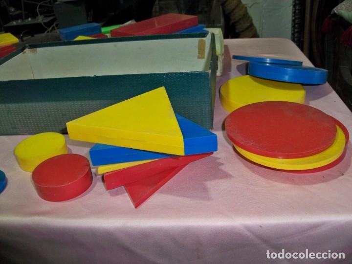 Juegos educativos: Antiguo juego BLOQUES LOGICOS , TEIDE , de ENOSA , made in spain - Foto 10 - 242011585
