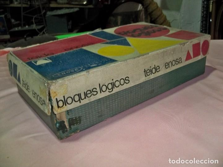 Juegos educativos: Antiguo juego BLOQUES LOGICOS , TEIDE , de ENOSA , made in spain - Foto 11 - 242011585