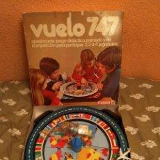 Juegos educativos: GASTOS 8€. JUEGO VUELO 747. JUEGO EDUCATIVO. COMPLETO. AÑOS 70. Lote 242012540