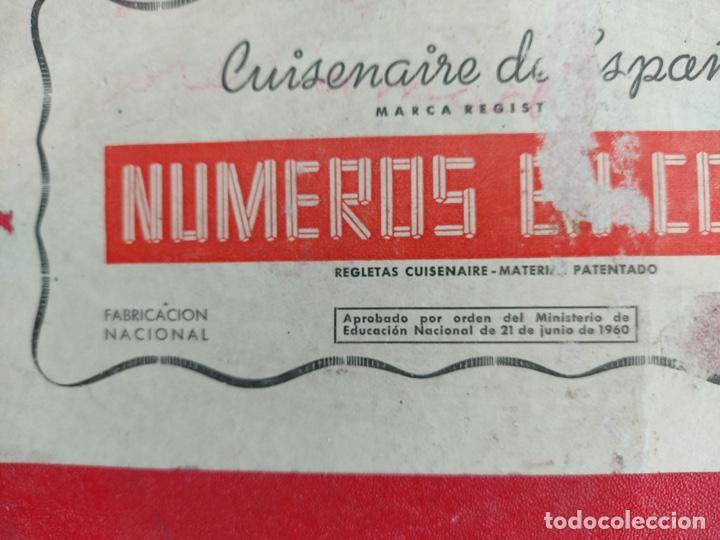 Juegos educativos: ANTIGUO JUEGO CUISENAIRE DE ESPAÑA - NUMEROS EN COLOR - AÑOS 60 - Foto 3 - 242100485