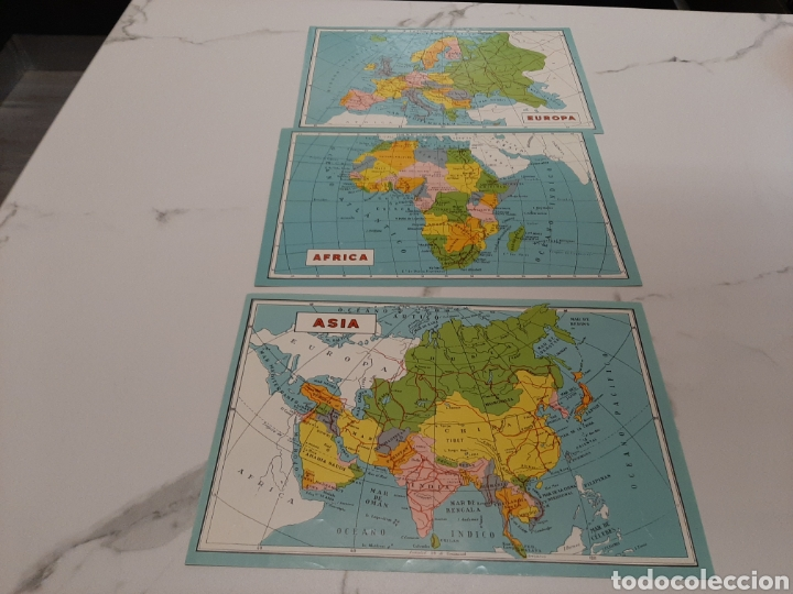 Juegos educativos: Rompecabezas geografico Borras - Foto 3 - 243412660