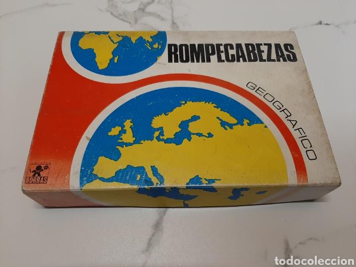 ROMPECABEZAS GEOGRAFICO BORRAS (Juguetes - Juegos - Educativos)
